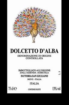 DOLCETTO Barbera d'Alba