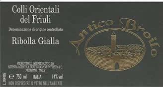 Ribolla Gialla DOC, 2008