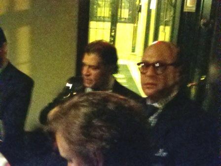 Rocche dei Manzoni dinner at the Leopard at Des Artistes