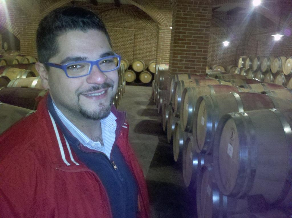 Trip to Piemont wine factory
