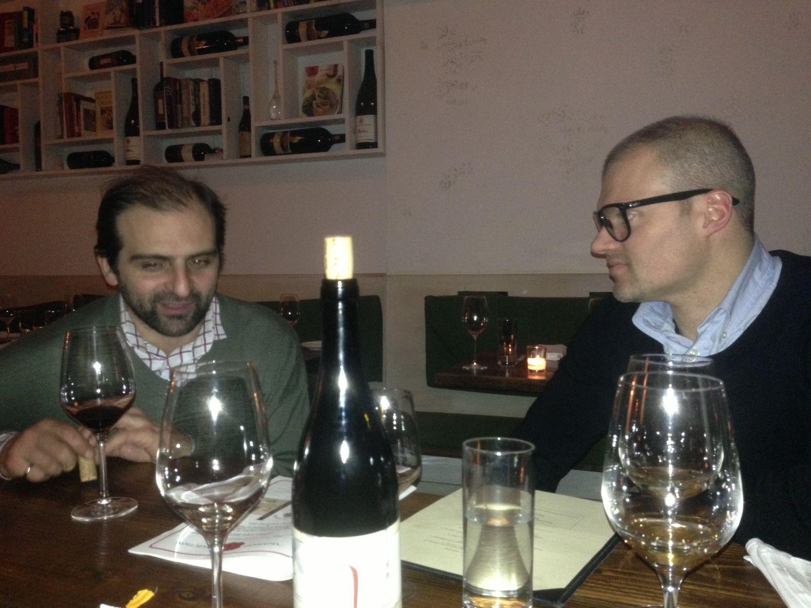 Dinner at Aroma kicthen with Vito Polosa