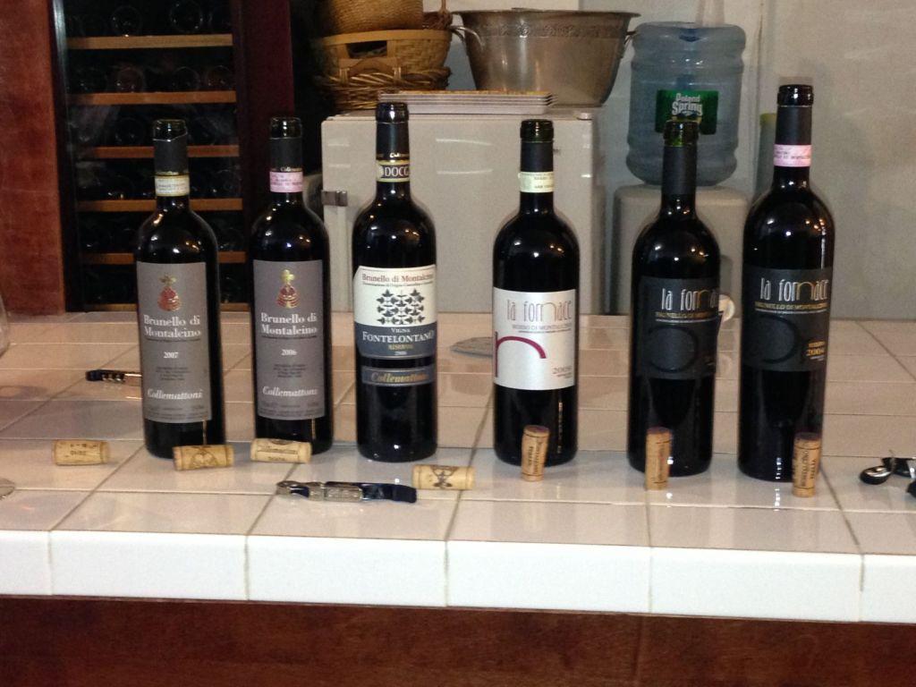 La Fornace and Collemattoni wines