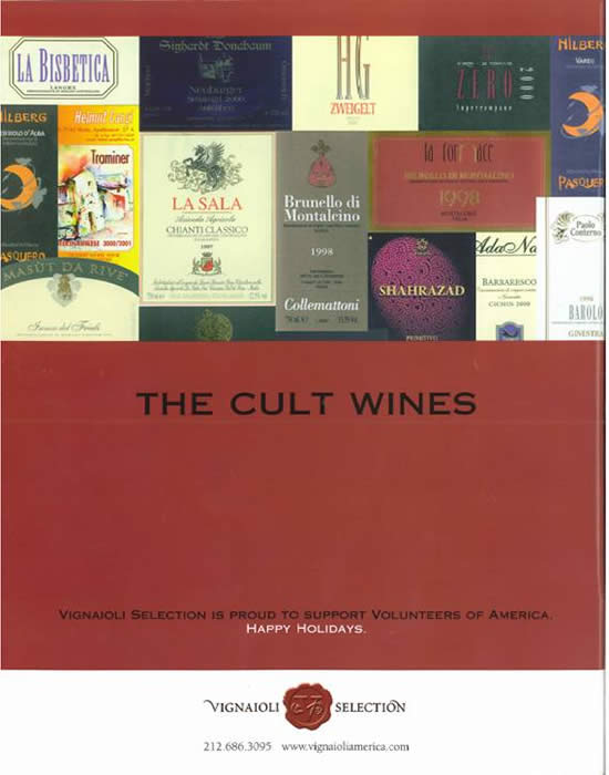 THE CULT WINES