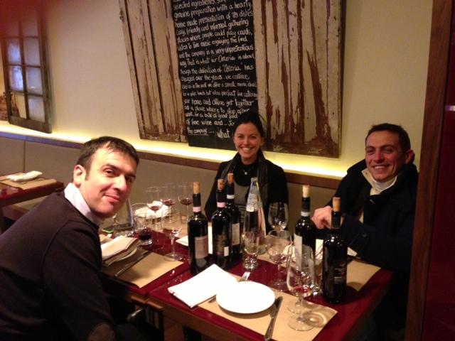 Marcello, Carlotta Paolini and Fabio Giannetti