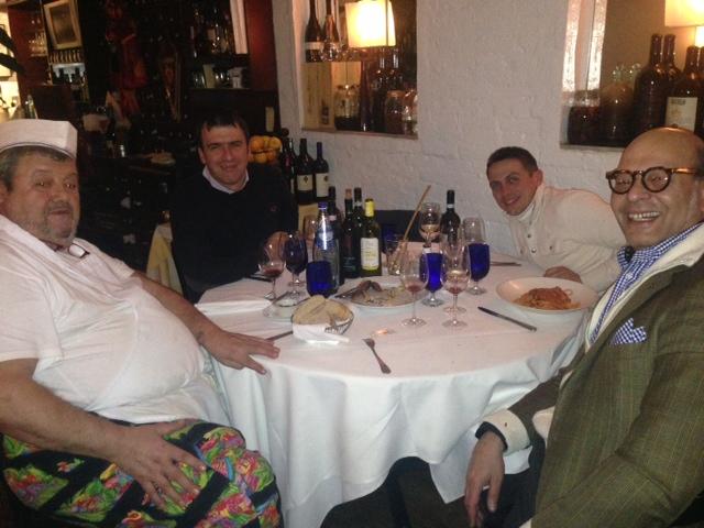 Sandro Fioriti, Marcello, Fabio and Dino Tantawi