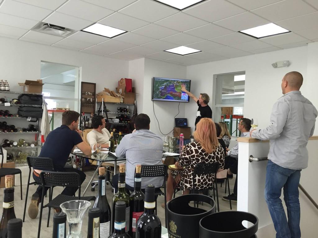 Tasting seminar in Florida